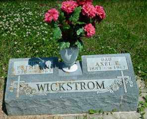SUNDSTROM WICKSTROM, ESTHER M. - Lincoln County, South Dakota | ESTHER M. SUNDSTROM WICKSTROM - South Dakota Gravestone Photos