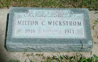 WICKSTROM, MILTON C. - Lincoln County, South Dakota | MILTON C. WICKSTROM - South Dakota Gravestone Photos