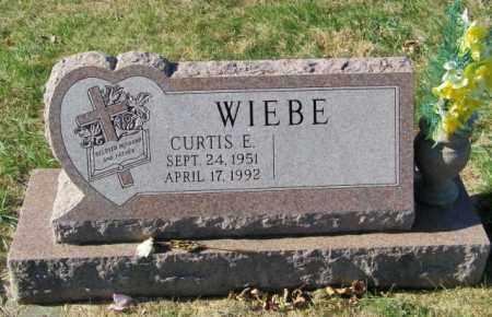 WIEBE, CURTIS E - Lincoln County, South Dakota | CURTIS E WIEBE - South Dakota Gravestone Photos