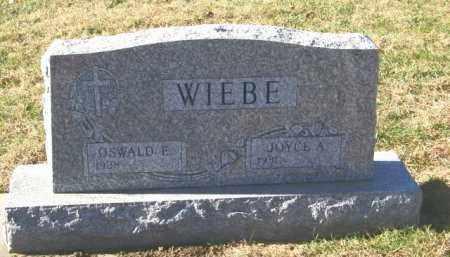 WIEBE, JOYCE A - Lincoln County, South Dakota | JOYCE A WIEBE - South Dakota Gravestone Photos