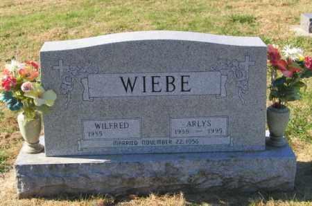 WIEBE, ARLYS - Lincoln County, South Dakota   ARLYS WIEBE - South Dakota Gravestone Photos