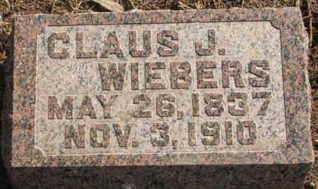 WIEBERS, CLAUS J. - Lincoln County, South Dakota   CLAUS J. WIEBERS - South Dakota Gravestone Photos