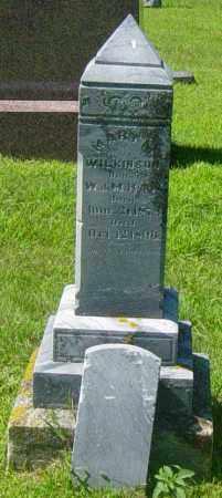 HAW WILKINSON, MARY - Lincoln County, South Dakota   MARY HAW WILKINSON - South Dakota Gravestone Photos
