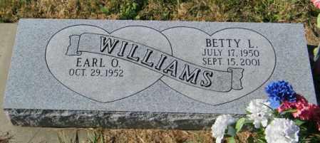 WILLIAMS, BETTY L - Lincoln County, South Dakota   BETTY L WILLIAMS - South Dakota Gravestone Photos