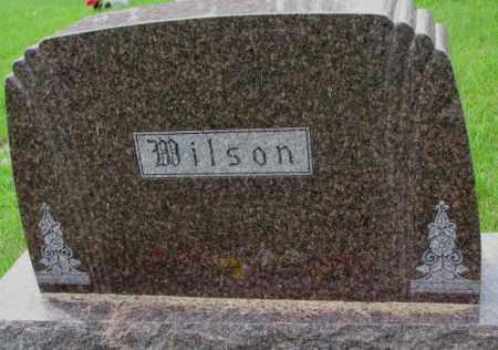 WILSON, FAMILY PLOT MARKER - Lincoln County, South Dakota | FAMILY PLOT MARKER WILSON - South Dakota Gravestone Photos