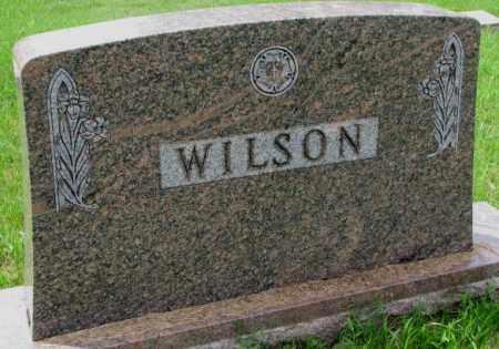 WILSON, FAMILY PLOT MARKER - Lincoln County, South Dakota   FAMILY PLOT MARKER WILSON - South Dakota Gravestone Photos