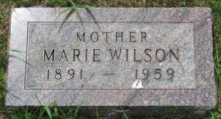 WILSON, MARIE - Lincoln County, South Dakota   MARIE WILSON - South Dakota Gravestone Photos