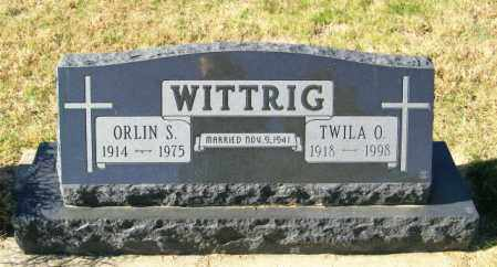 WITTRIG, ORLIN S - Lincoln County, South Dakota   ORLIN S WITTRIG - South Dakota Gravestone Photos