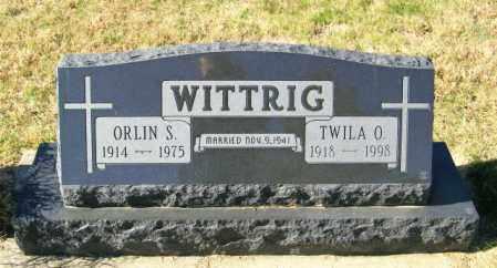 WITTRIG, ORLIN S - Lincoln County, South Dakota | ORLIN S WITTRIG - South Dakota Gravestone Photos