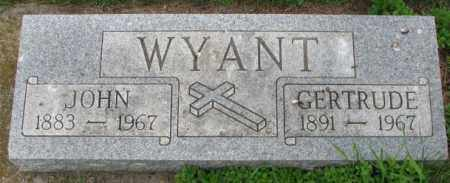 WYANT, GERTRUDE - Lincoln County, South Dakota | GERTRUDE WYANT - South Dakota Gravestone Photos