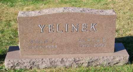YELINEK, VERN J. - Lincoln County, South Dakota | VERN J. YELINEK - South Dakota Gravestone Photos