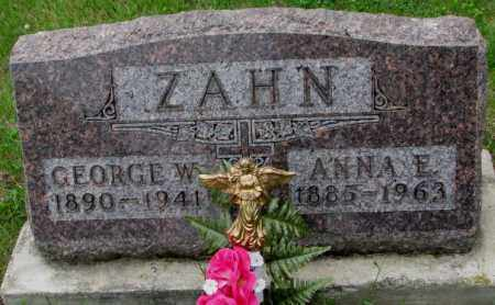 ZAHN, GEORGE W. - Lincoln County, South Dakota | GEORGE W. ZAHN - South Dakota Gravestone Photos