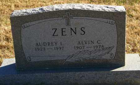 ZENS, ALVIN C. - Lincoln County, South Dakota | ALVIN C. ZENS - South Dakota Gravestone Photos