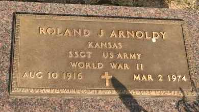 ARNOLDY, ROLAND J - Lyman County, South Dakota   ROLAND J ARNOLDY - South Dakota Gravestone Photos