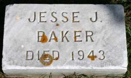 BAKER, JESSE J - Lyman County, South Dakota | JESSE J BAKER - South Dakota Gravestone Photos