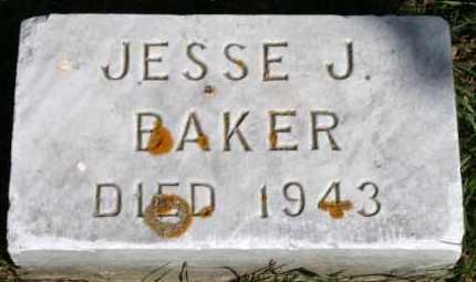 BAKER, JESSE J - Lyman County, South Dakota | JESSE J BAKER - South Dakota Gravestone Photos