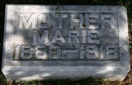 BAKER, MARIE - Lyman County, South Dakota   MARIE BAKER - South Dakota Gravestone Photos