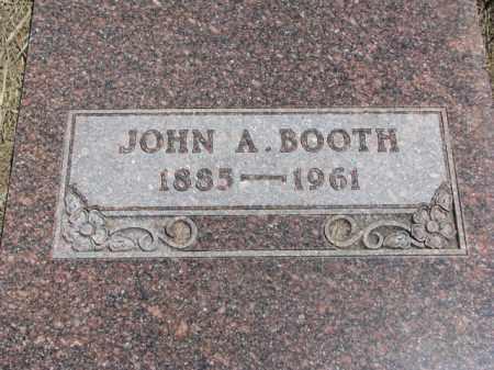 BOOTH, JOHN A. - Lyman County, South Dakota | JOHN A. BOOTH - South Dakota Gravestone Photos