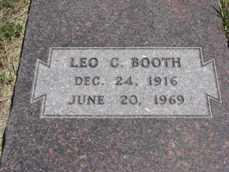BOOTH, LEO C. - Lyman County, South Dakota | LEO C. BOOTH - South Dakota Gravestone Photos