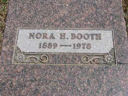 BOOTH, NORA H. - Lyman County, South Dakota | NORA H. BOOTH - South Dakota Gravestone Photos