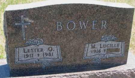 BOWER, LESTER O. - Lyman County, South Dakota | LESTER O. BOWER - South Dakota Gravestone Photos