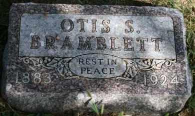 BRAMBLETT, OTIS S - Lyman County, South Dakota | OTIS S BRAMBLETT - South Dakota Gravestone Photos