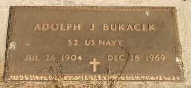 BUKACEK, ADOLPH J - Lyman County, South Dakota | ADOLPH J BUKACEK - South Dakota Gravestone Photos