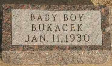 BUKACEK, BOY - Lyman County, South Dakota | BOY BUKACEK - South Dakota Gravestone Photos