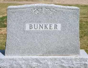 BUNKER, FAMILY - Lyman County, South Dakota   FAMILY BUNKER - South Dakota Gravestone Photos