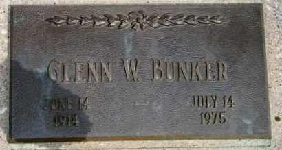 BUNKER, GLENN W - Lyman County, South Dakota | GLENN W BUNKER - South Dakota Gravestone Photos