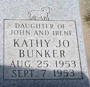 BUNKER, KATHY JO - Lyman County, South Dakota | KATHY JO BUNKER - South Dakota Gravestone Photos