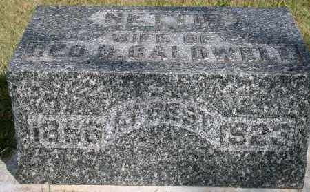 CALDWELL, NETTIE - Lyman County, South Dakota | NETTIE CALDWELL - South Dakota Gravestone Photos