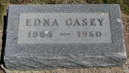 CASEY, EDNA - Lyman County, South Dakota | EDNA CASEY - South Dakota Gravestone Photos