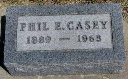 CASEY, PHIL E. - Lyman County, South Dakota | PHIL E. CASEY - South Dakota Gravestone Photos
