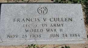 CULLEN, FRANCIS V - Lyman County, South Dakota | FRANCIS V CULLEN - South Dakota Gravestone Photos