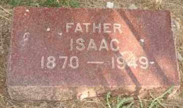 DIRKS, ISAAC - Lyman County, South Dakota | ISAAC DIRKS - South Dakota Gravestone Photos