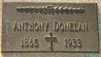 DONELAN, ANTHONY - Lyman County, South Dakota | ANTHONY DONELAN - South Dakota Gravestone Photos