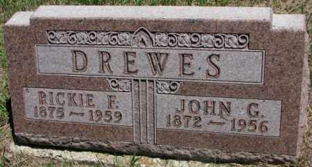 DREWES, JOHN G. - Lyman County, South Dakota | JOHN G. DREWES - South Dakota Gravestone Photos