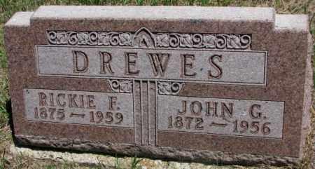 DREWES, RICKIE F. - Lyman County, South Dakota | RICKIE F. DREWES - South Dakota Gravestone Photos