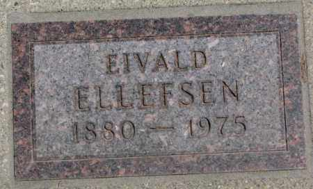 ELLEFSEN, EIVALD - Lyman County, South Dakota | EIVALD ELLEFSEN - South Dakota Gravestone Photos