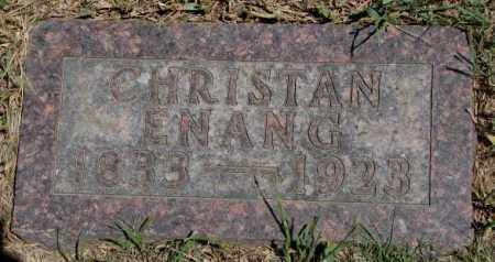 ENANG, CHRISTAN - Lyman County, South Dakota | CHRISTAN ENANG - South Dakota Gravestone Photos