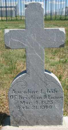 ENANG, KAROLINE L. - Lyman County, South Dakota | KAROLINE L. ENANG - South Dakota Gravestone Photos