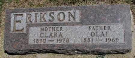 ERIKSON, CLARA - Lyman County, South Dakota | CLARA ERIKSON - South Dakota Gravestone Photos
