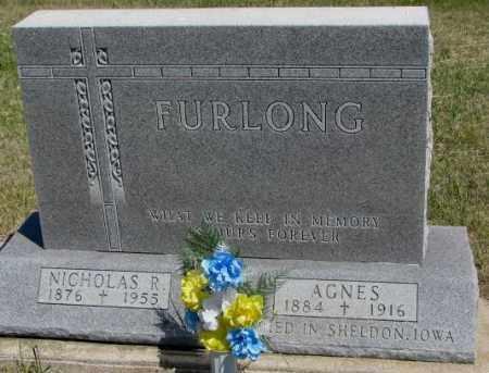 FURLONG, NICHOLAS R. - Lyman County, South Dakota | NICHOLAS R. FURLONG - South Dakota Gravestone Photos