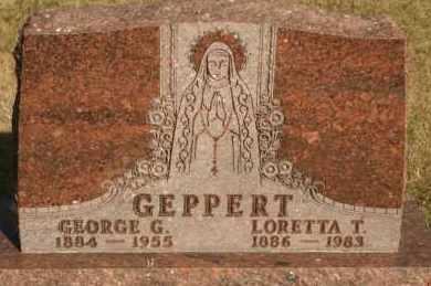 GEPPERT, LORETTA T - Lyman County, South Dakota | LORETTA T GEPPERT - South Dakota Gravestone Photos