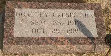 GRAVES, DOROTHY CRESENTHIA - Lyman County, South Dakota | DOROTHY CRESENTHIA GRAVES - South Dakota Gravestone Photos