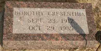 GRAVES, DOROTHY CRESENTHIA - Lyman County, South Dakota | DOROTHY CRESENTHIA GRAVES - South Dakota Gravestone Photos