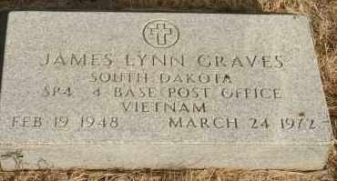 GRAVES, JAMES LYNN - Lyman County, South Dakota   JAMES LYNN GRAVES - South Dakota Gravestone Photos