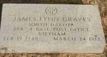 GRAVES, JAMES LYNN - Lyman County, South Dakota | JAMES LYNN GRAVES - South Dakota Gravestone Photos