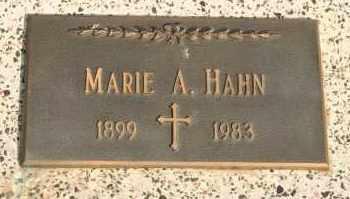 HAHN, MARIE A - Lyman County, South Dakota   MARIE A HAHN - South Dakota Gravestone Photos